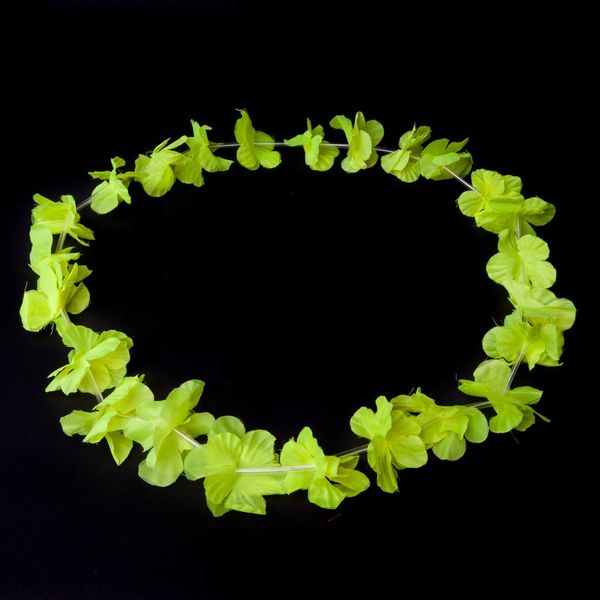 Garland / Hawaiian Lei Yellow UV (bulk)