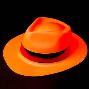 Neon Hat Orange