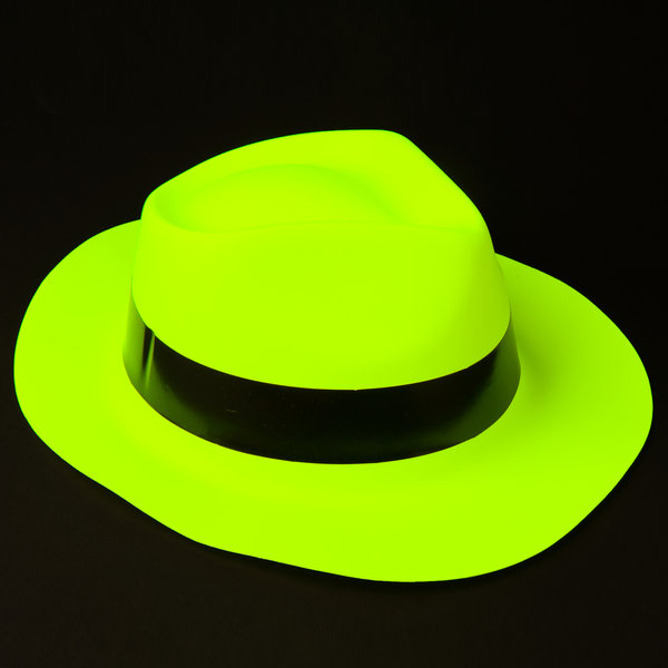 Neon Hat Yellow