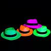 GlowFactory Feesthoed - Geel - Blacklight