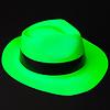 GlowFactory Feesthoed - Groen - Blacklight