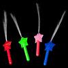 GlowFactory Fibre Optic Torch Star / Fibre Optic Wand Star  (Bulk)