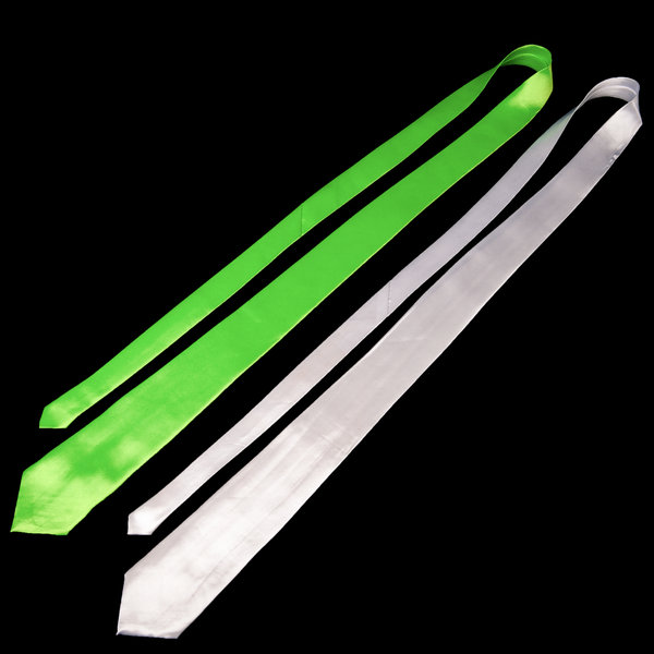 UV Reactive Tie Green