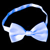 GlowFactory UV Bow Tie White