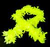 GlowFactory Neon Boa Geel / Blacklight Boa