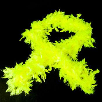 GlowFactory Neon Boa - Geel