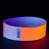 GlowFactory UV Reactive Neon Wristbands Orange