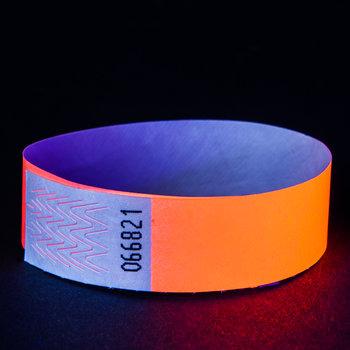 GlowFactory Neon Polsbandje Oranje