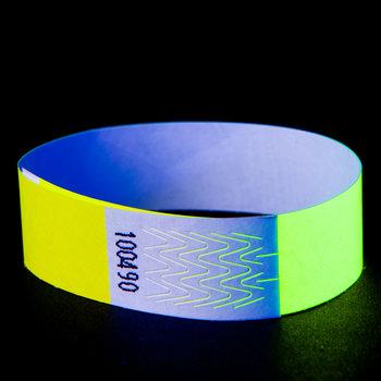 GlowFactory Neon Wristband Yellow (1000 pcs)