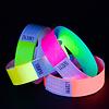 GlowFactory UV Reactive Neon Wristbands Yellow
