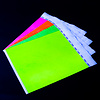GlowFactory UV Reactive Neon Wristbands Pink