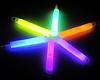 GlowFactory Glowstick 10 x 1 cm - Gemixte kleuren