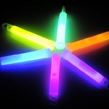 GlowFactory Glow Stick 4 inch Mixed Colours