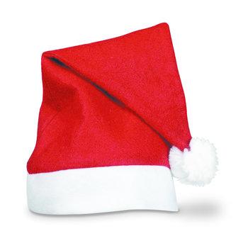 GlowFactory Günstige Filz-Nikolausmütze / Preisgünstige Weihnachtsmütze aus Filz