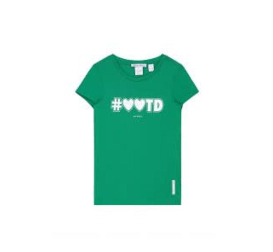 Poppy G8-8371804 Nik&Nik T-shirt Bottle green Girls