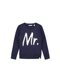 nik&nik George B8-0181804 Nik&Nik Sweater Dark Blue Boys