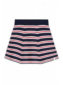 nik&nik Indie Romy G3-8031804 Nik&Nik Skirt Off white/dark blue Girls