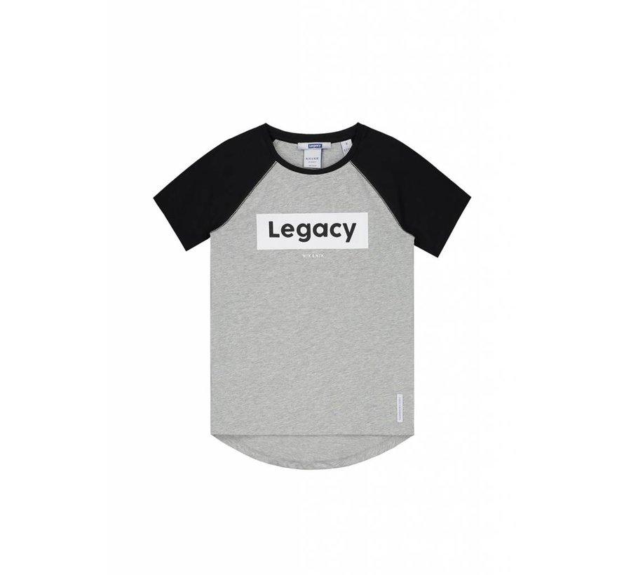Powell B8-8751804 Nik&Nik T-shirt Light grey melange Boys