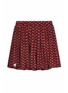 nik&nik Caroline G3-8111804 Nik&Nik Skirt Multi red Girls