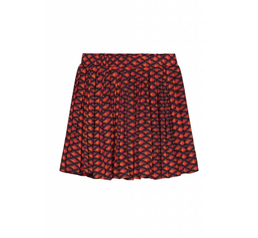 Caroline G3-8111804 Nik&Nik Skirt Multi red Girls