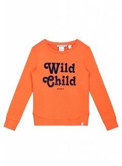 nik&nik Poloma G8-8481804 Nik&Nik Sweater Orange Girls