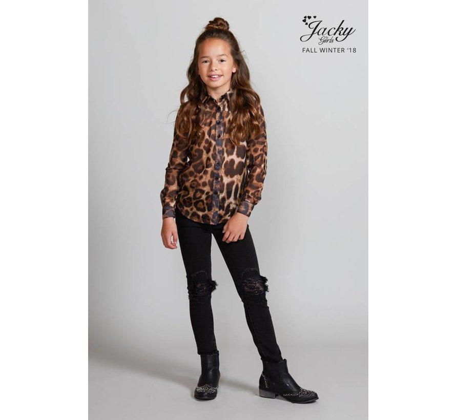 JGFW18040 Jacky Luxury Blouse leopard