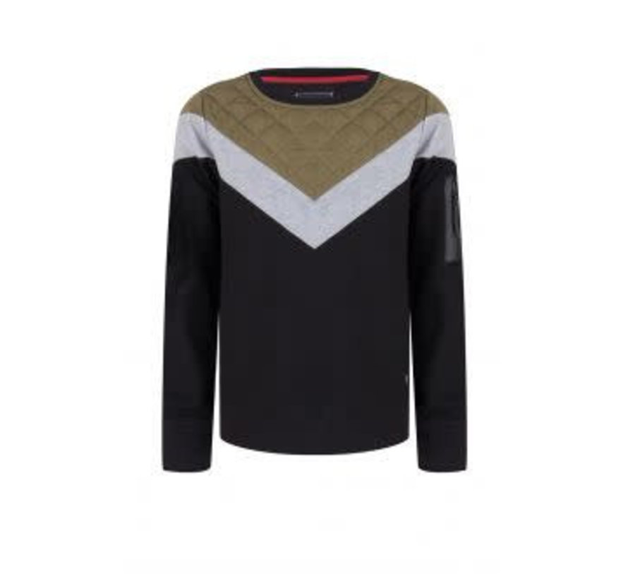 Crewneck IBB28-4549 Indian blue jeans sweater