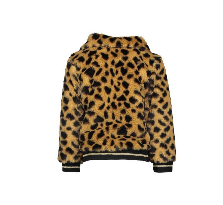 F808-5208 Like Flo fur jacket