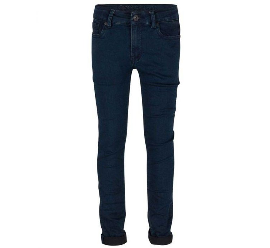 ibb28-4582 Indian Blue Jeans zipper scuba
