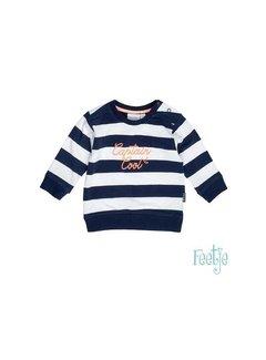 Feetje Feetje 516.01255 sweater streep captain cool