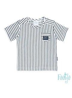 Feetje Feetje 517.00491 t-shirt streep captain cool