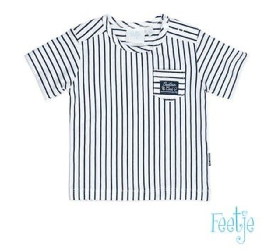 Feetje 517.00491 t-shirt streep captain cool