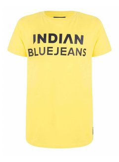 Indian Blue Jeans IBB19-3682 T-shirt SS Indian blue jeans