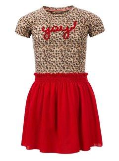 LOOXS 911-7811-924 lOOXS jurk