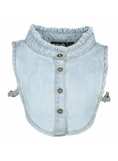 Flo F902-5110 Like Flo Denim Ruffle Collar