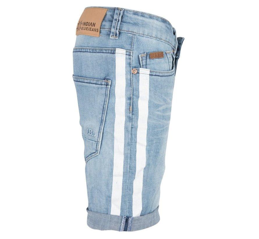IBB19-6517 Dann short Indian blue jeans