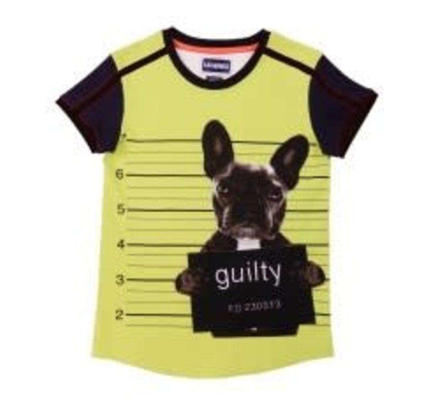 leggend 22 T shirt guilty bull dog