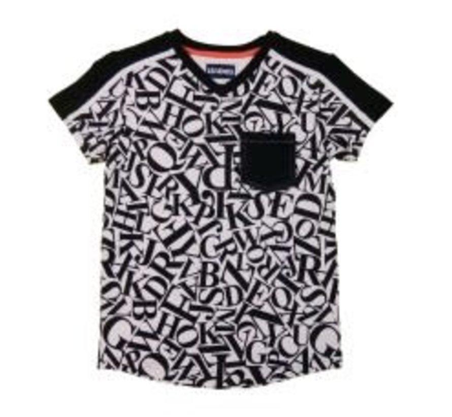 leggend 22 T shirt breastpocket