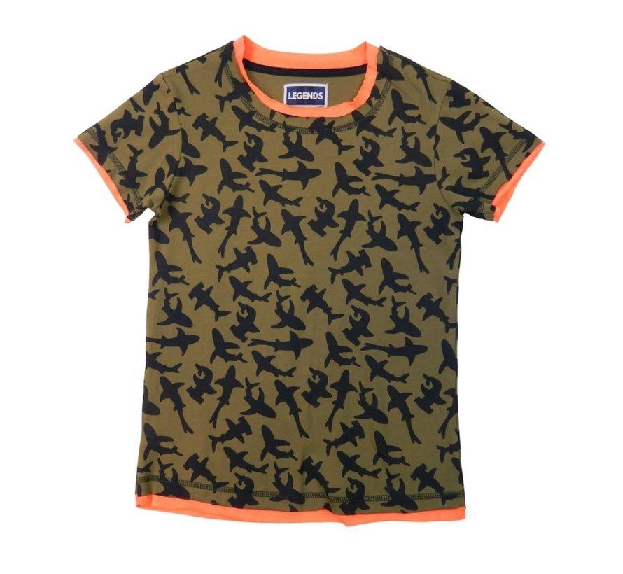 Leggend 22 T shirt Shark