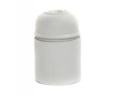 Kynda Light Fassung Thermoplastik (Kunststoff) Weiß mit Glattmantel - E27