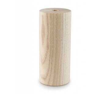 Kynda Light Wooden Lamp Holder 'Woody' Cylinder large