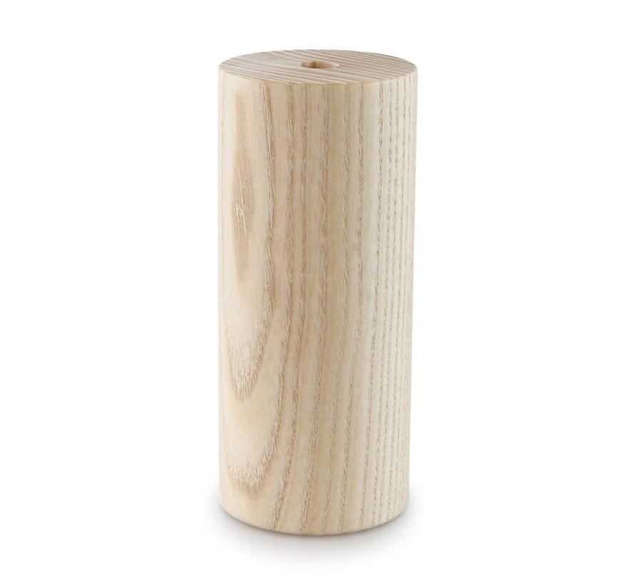 Wooden Lamp Holder 'Woody' Cylinder large E27