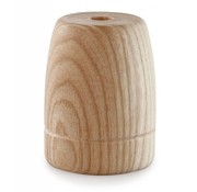 Kynda Light Wooden Lamp Holder 'Woody' Classic