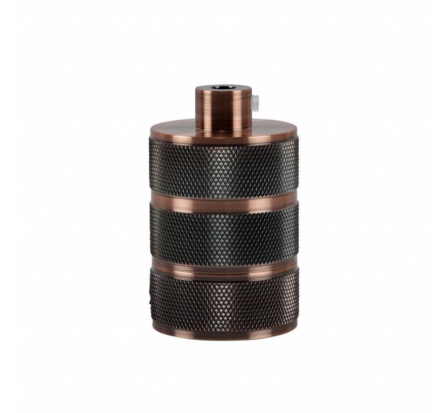 Fitting 'Hallvor' metaal Koper E27