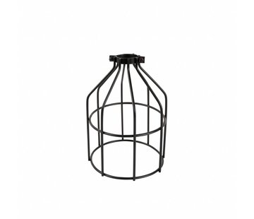 Kynda Light Metal Cage Frame 'Shad' black