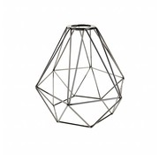Kynda Light Metal Cage Frame 'Ludvig' black