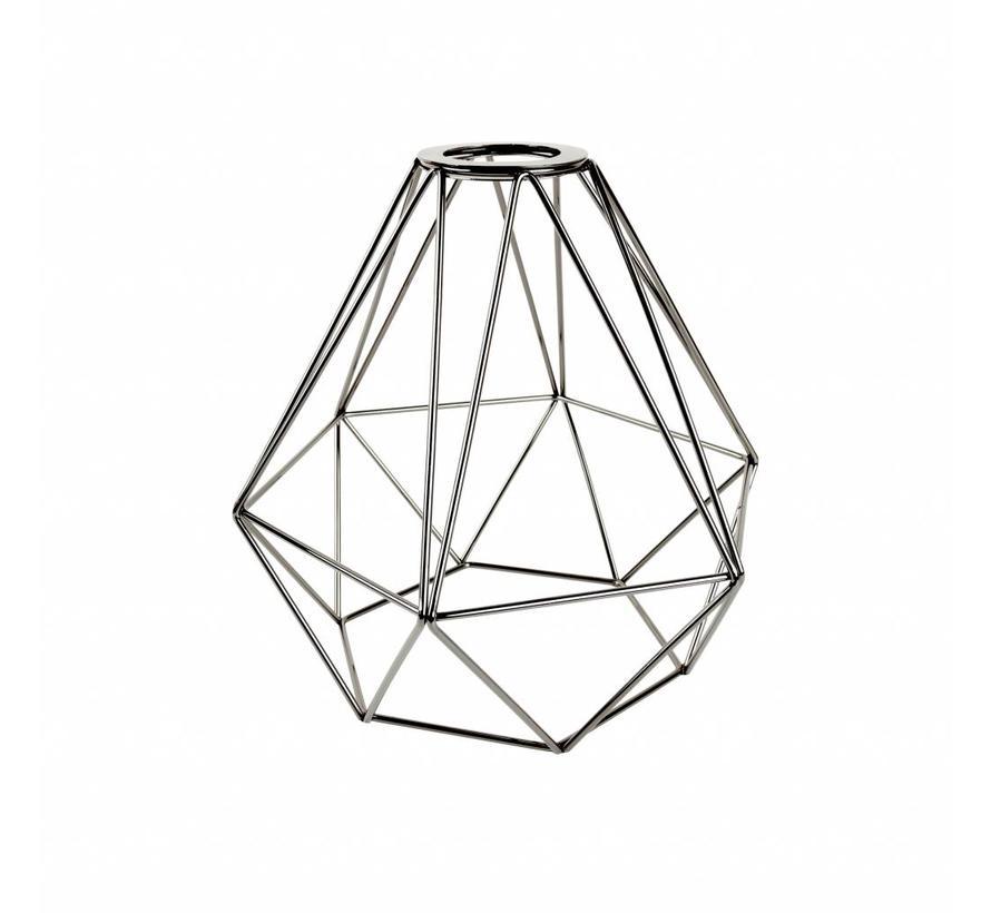 Kooi frame 'Ludvig' metaal Zwart