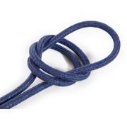Kynda Light Strijkijzersnoer Donkerblauw - rond, linnen