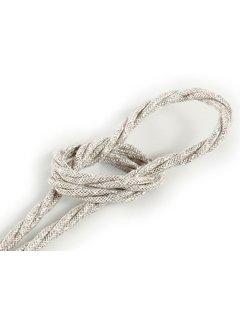 Kynda Light Fabric Cord Beige - twisted, linen