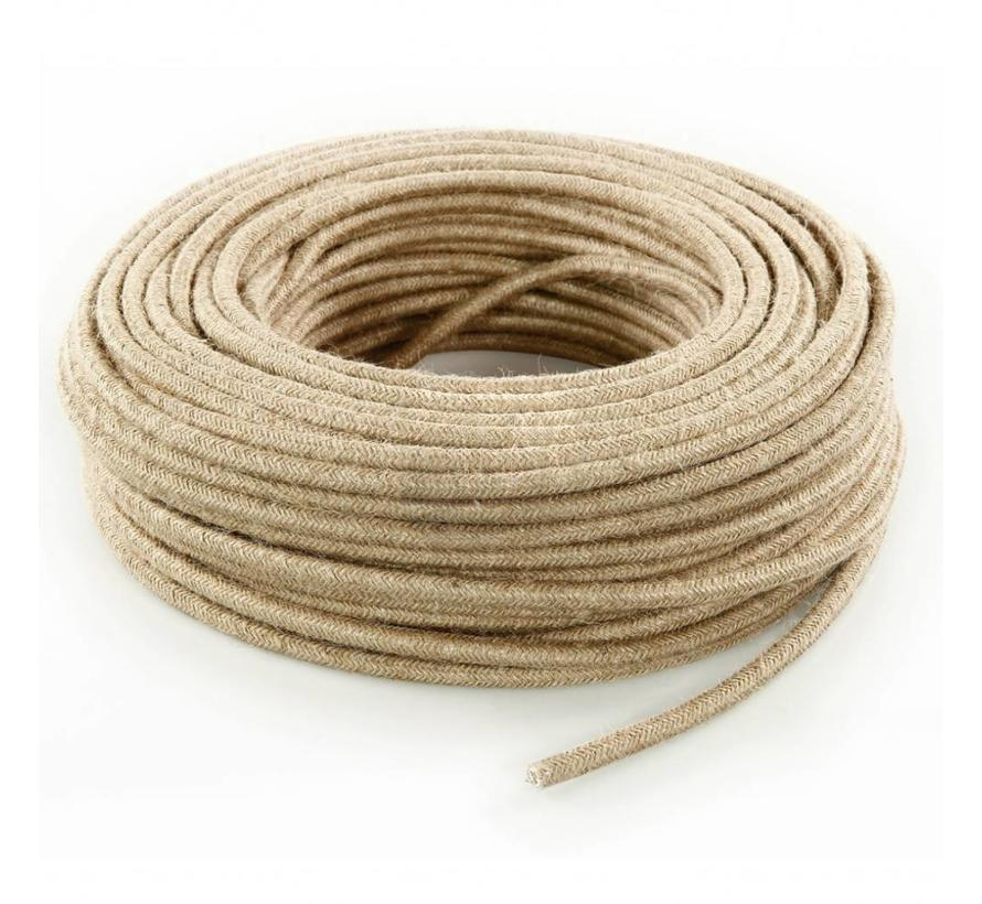 Fabric Cord Jute - round, raw Yarn